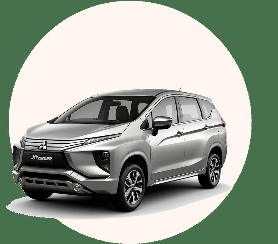 Sewa mobil Mitsubishi Expander Automatic murah di Bali